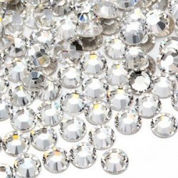 Crystals - Clear 50pcs *SS4, 6, 8, 10