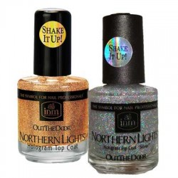 INM Northern Lights Hologram Topcoat *2 Types