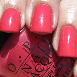 OPI Touring America - I Eat Mainely Lobster 0.5 oz