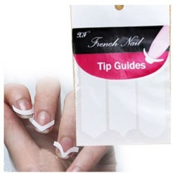 Sticker - French Nail Guide *3 Design in 1pc x 3 sheets