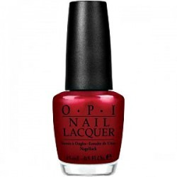 OPI Germany - Danke-Shiny Red G14