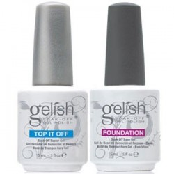 Gelish Top and Base coat VALUE Set