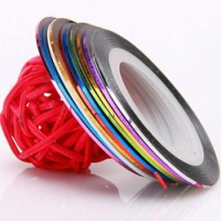 Striping Tape - Stripe Tape Roll Set 10 pcs