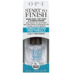 OPI START TO FINISH Blue Label (Formaldehyde-Free) 0.5 oz