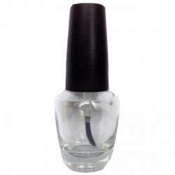 Empty Nail Polish Bottle Glass 0.5oz/ 15ml