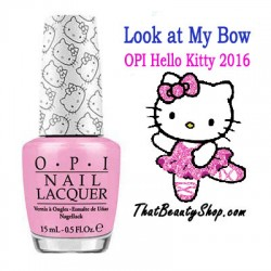 OPI Hello Kitty - Look at My Bow H83*