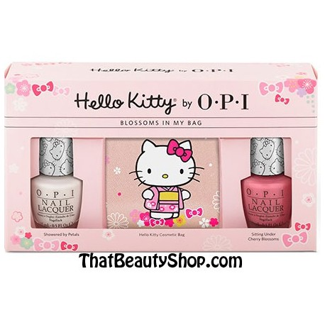 OPI Hello Kitty - Say Hello to Pretty Pedi Duo Pack*