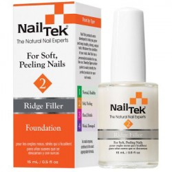 Nail Tek Foundation 2 Ridge Filler Base Coat 0.5 oz