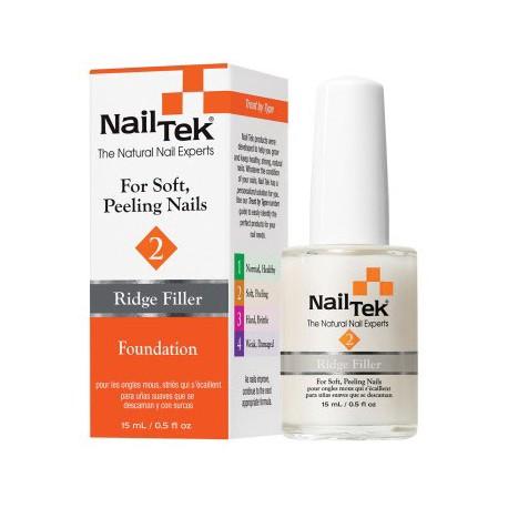 Nail Tek Foundation 2 Ridge Filler Base Coat 0.5 oz