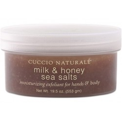 Cuccio - Milk & Honey Sea Salt Scrub Medium Grit 19.5 oz