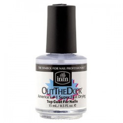 INM Northern Light - Out The Door Super Fast Drying Top Coat 0.5 oz