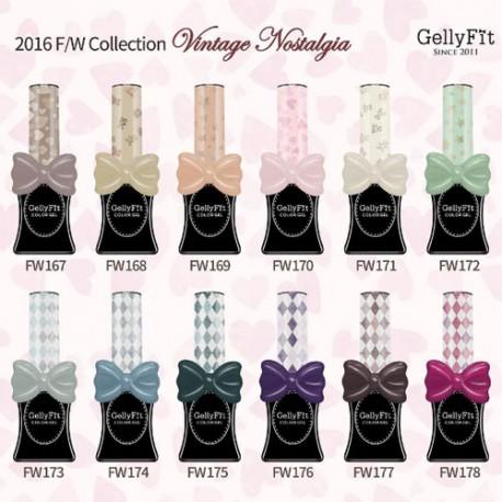 Gellyfit - Oriental Flowers Set of 12 bottles