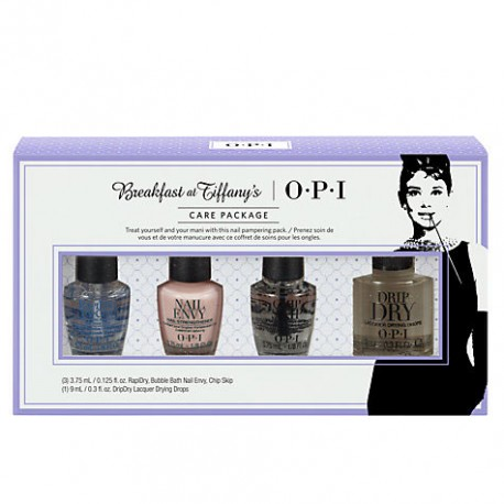 OPI Breakfast at Tiffany - Mini Treatments With DripDry