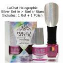 LeChat Spectra Halographic Gel Nail Polish Set - Stellar Stars Set