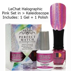 LeChat Spectra Halographic Gel Nail Polish Set - Kaleidoscope Set