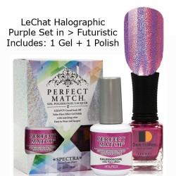 LeChat Spectra Halographic Gel Nail Polish Set - Futurist Set