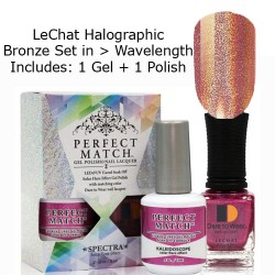 LeChat Spectra Halographic Gel Nail Polish Set - Wavelength Set