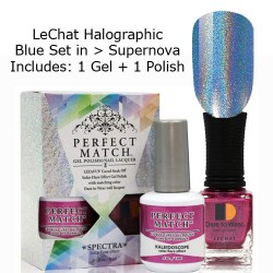 LeChat Spectra Halographic Gel Nail Polish Set - Supernova Set