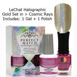 LeChat Spectra Halographic Gel Nail Polish Set - Cosmic Rays Set