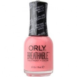Orly Breathable Treatment & Nail Color - Light As a Feather Shade 909 18ml