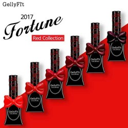 Gellyfit 2017 - Red Fortune Set of 6 bottles