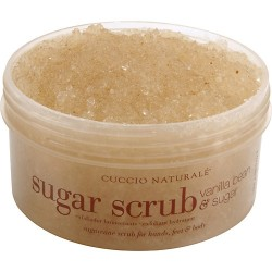Cuccio Sugar Scrub - Vanilla Bean for Hands Feet Body 19.5 oz