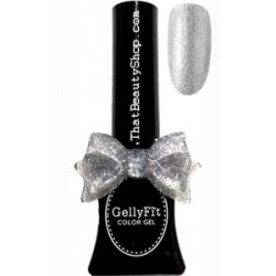 Gellyfit Glitter Gel Nail Color - Silver G02 11ml