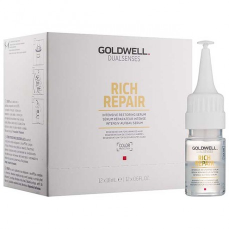 Goldwell Dualsenses Rich Repair Regeneration Serum - 18mlx1 or 12per box