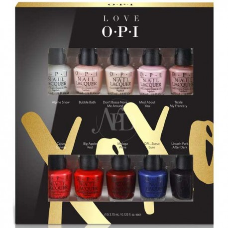 OPI Coca Cola Best Seller Mini 10 Pack Set