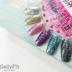 Gellyfit - Magic Glass Set Version II of 6 OR ** Singles selections available