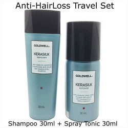 Goldwell Kerasilk Hair Repower Volume Shampoo and conditioner Travel Set