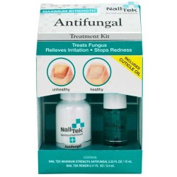 Nail Tek Antifungal Fungus Treatment Kit with Renew Cuticle Oil