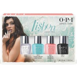 OPI Mini Infinite Shine Lisbon 4 Piece Set ( 4 x 3.75ml)