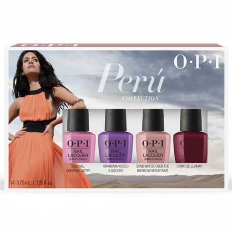OPI Mini Peru 4 Piece Set ( 4 x 3.75ml)