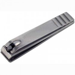French Straight Cut Nail Clipper Matte Steel