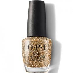 OPI Nutcracker Gold Key to the Kingdom K13 nail polish 0.5 oz