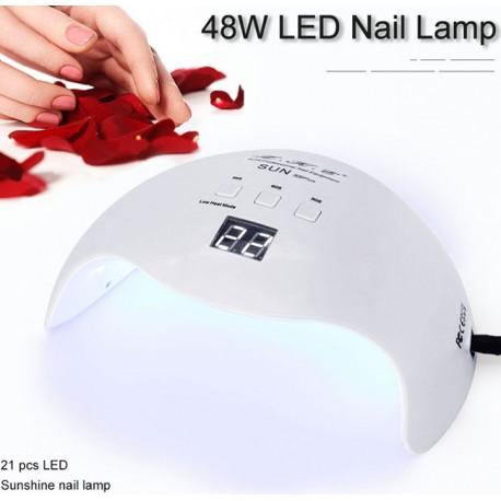 Sunuv 9C Plus 36 watt UV LED Gel Nail Polish Lamp 18 Bulb 30s 60s