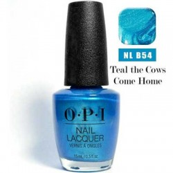 OPI Brights - Teal the Cows Come Home B54 0.5 oz