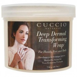 Cuccio Body Hand Feet Mask Deep Dermal Transforming Wrap 26oz