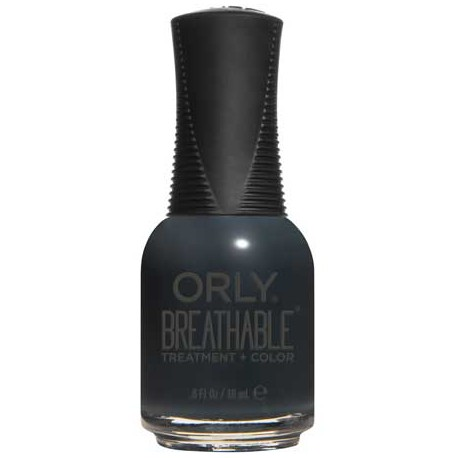 Orly Breathable Treatment Nail Polish - Mind Over Matters Black 005 18ml