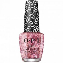 OPI Hello Kitty Nail Polish - Glitter All The Way L12 0.5 oz