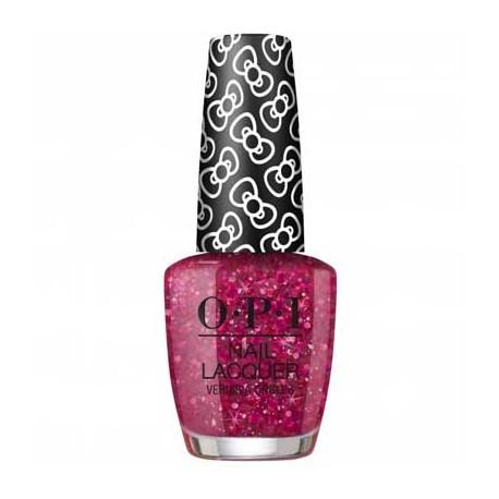 OPI Hello Kitty Nail Polish - Born to Sparkle L13 0.5 oz