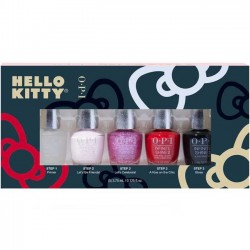OPI Mini Infinite Shine Nail Polish set - Bare For you ( 5 x 3.75ml)