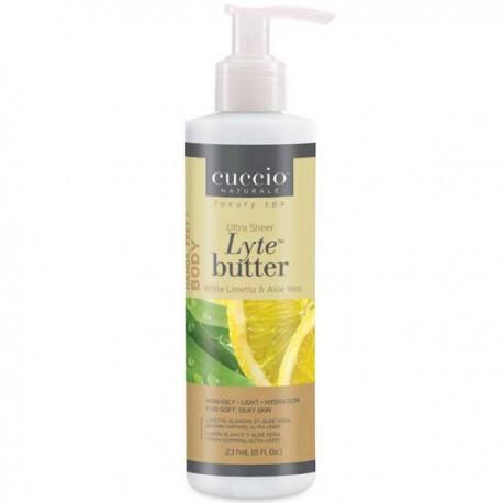 Cuccio Lyte White Limetta and Aloe Vera Lotion 8 oz