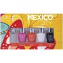 OPI Mini Infinite Shine Nail Polish set - Mexico ( 5 x 3.75ml)