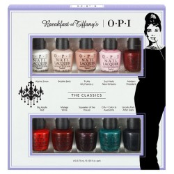 OPI Tiffany Best Seller Mini Nail Polish 10 Pack Set of 10 x 3.75ml