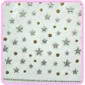 3D Sticker - Silver Star Burst